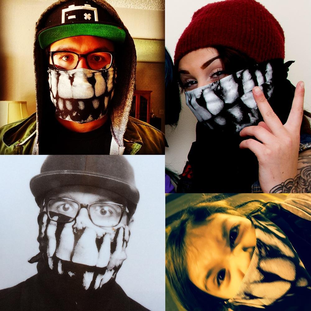 Arrex Skulls Teefs Bandanna