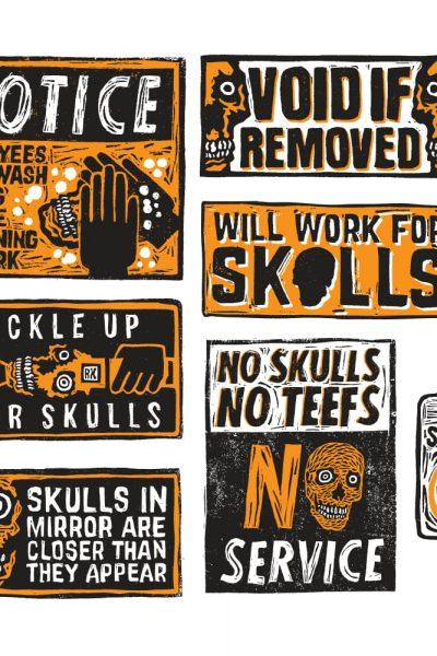 Public Service Wash Your Skulls
