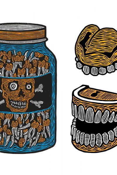 Teeth Jar